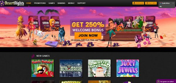 Desert Nights Casino review