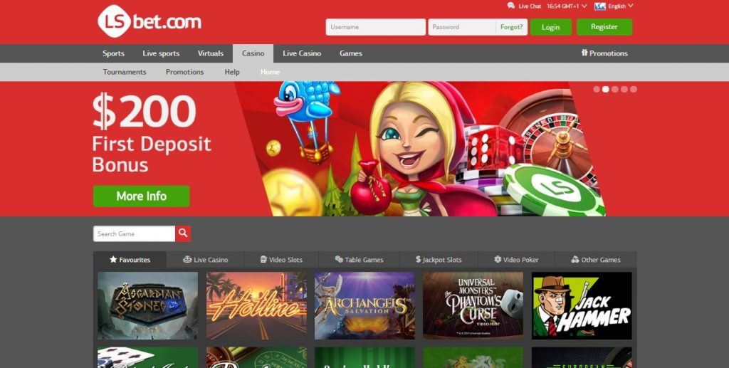 LsBet Casino review