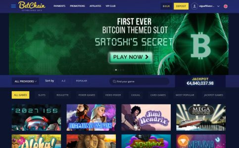 Betchain Bitcoin Casino review South Africa