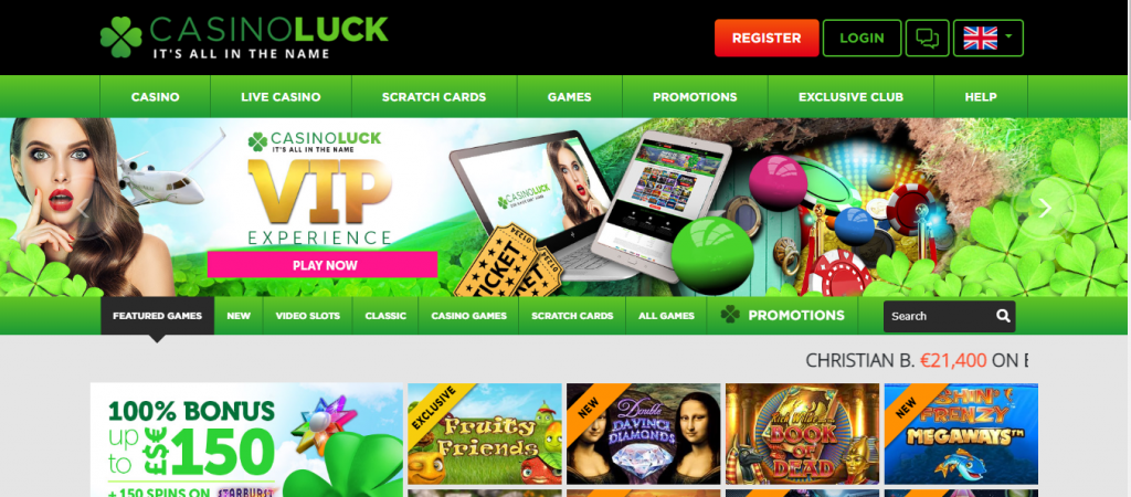 Casinoluck review South Africa