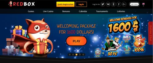 Red Box Casino review