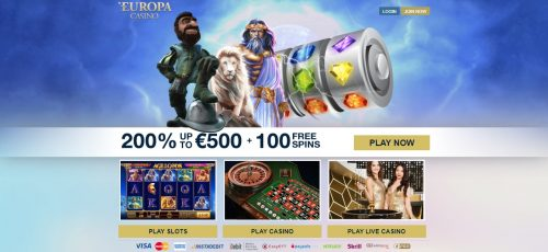 Europa Casino review South Africa