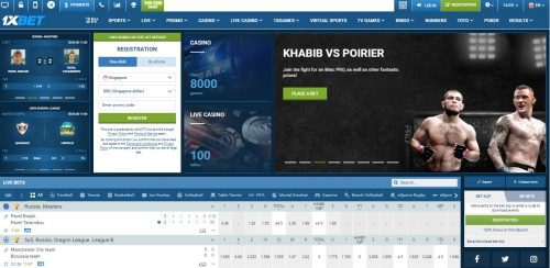 1xbet Africa review