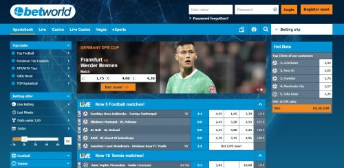 Betworls sportbook review