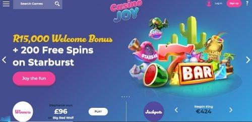 Casino Joy review