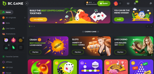 BC.Game Casino review South Africa