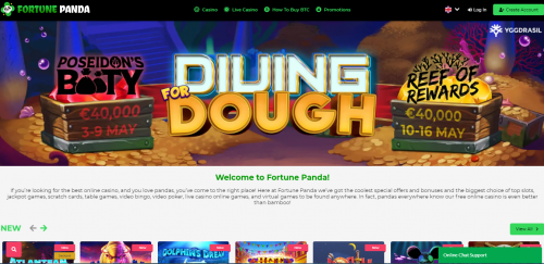 Fortune Panda Casino review South Africa